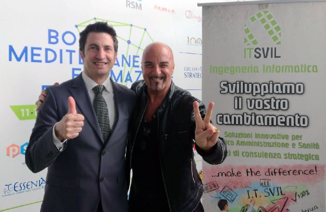 "DJ ANICETO OSPITE DI I.T.SVIL ALL' ""HACKATHON TALENTS FOR BUSINESS"" A PONTECAGNANO (SA)"
